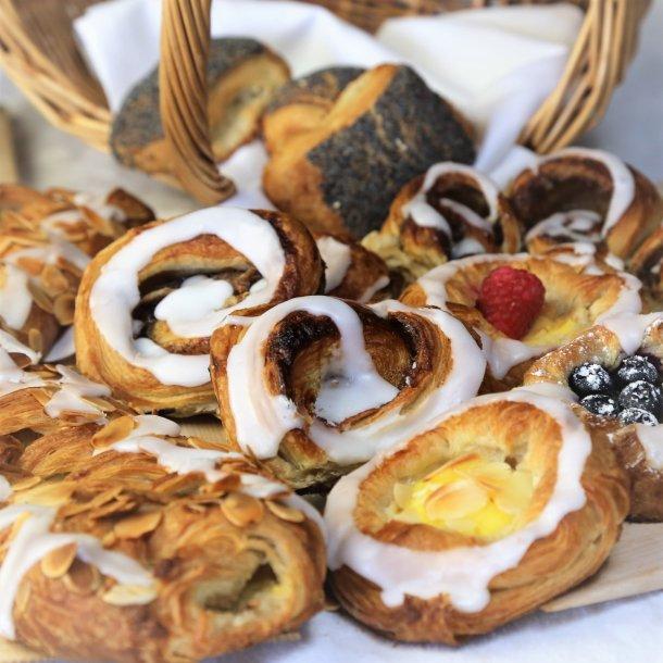 Wienerbrød, Croissanter og Birkes - Weekend / helligdag