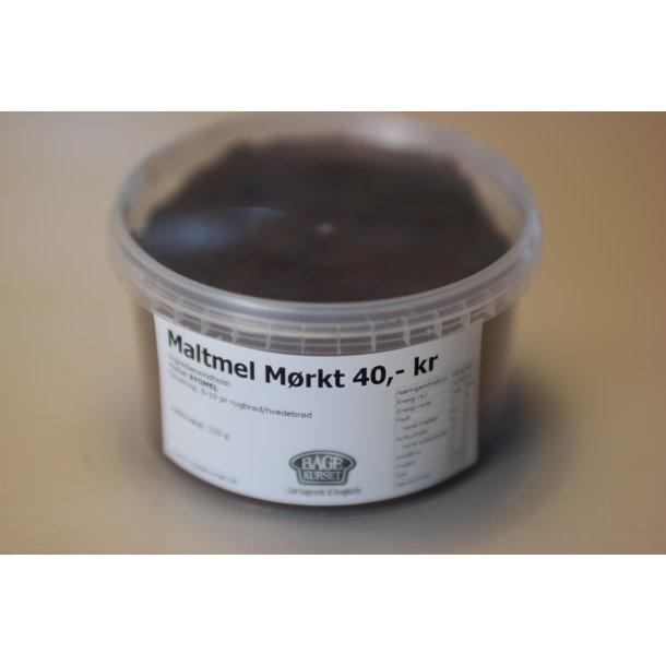 Maltmel mørk LILLE 220 g