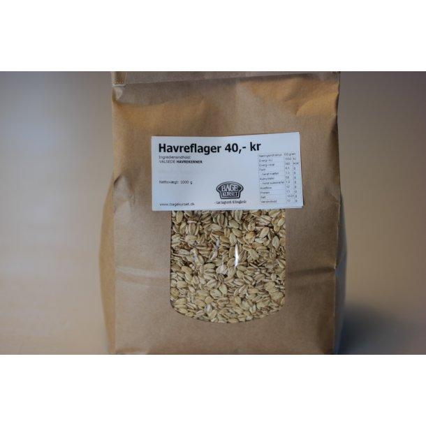 Havreflager 1 kg