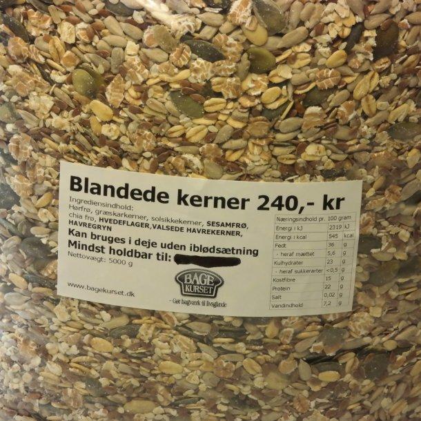 Blandede kerner 5 kg